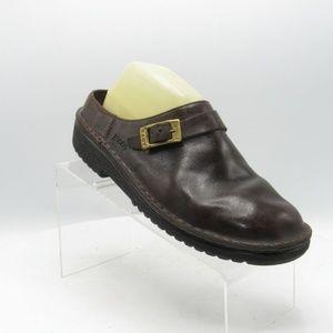 Naot Size 10.5 M Brown Mule Clogs Womens C2B D8